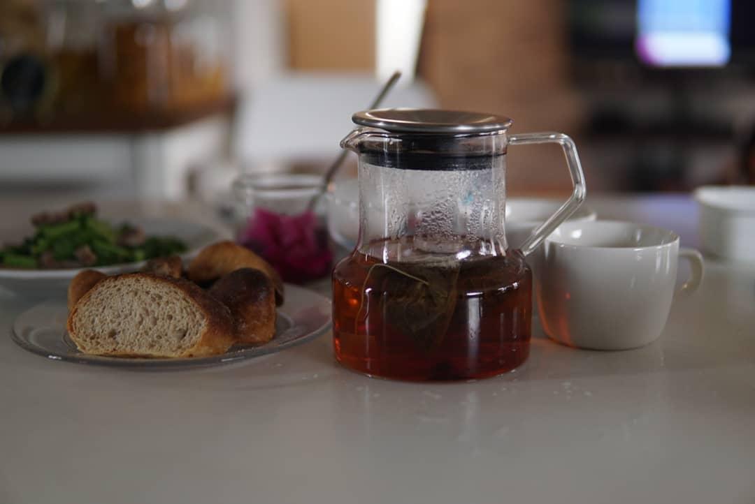 【おいしいパンと紅茶と】