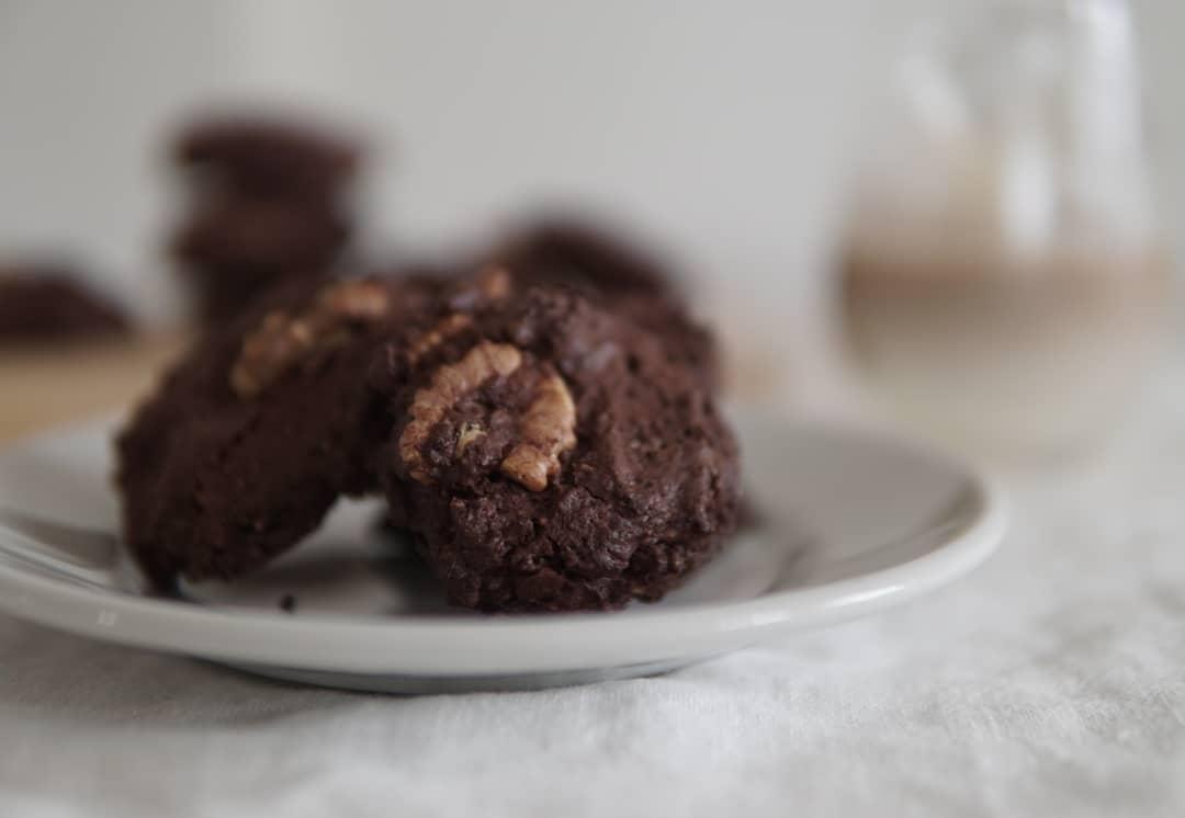 ダブルチョコドロップクッキー